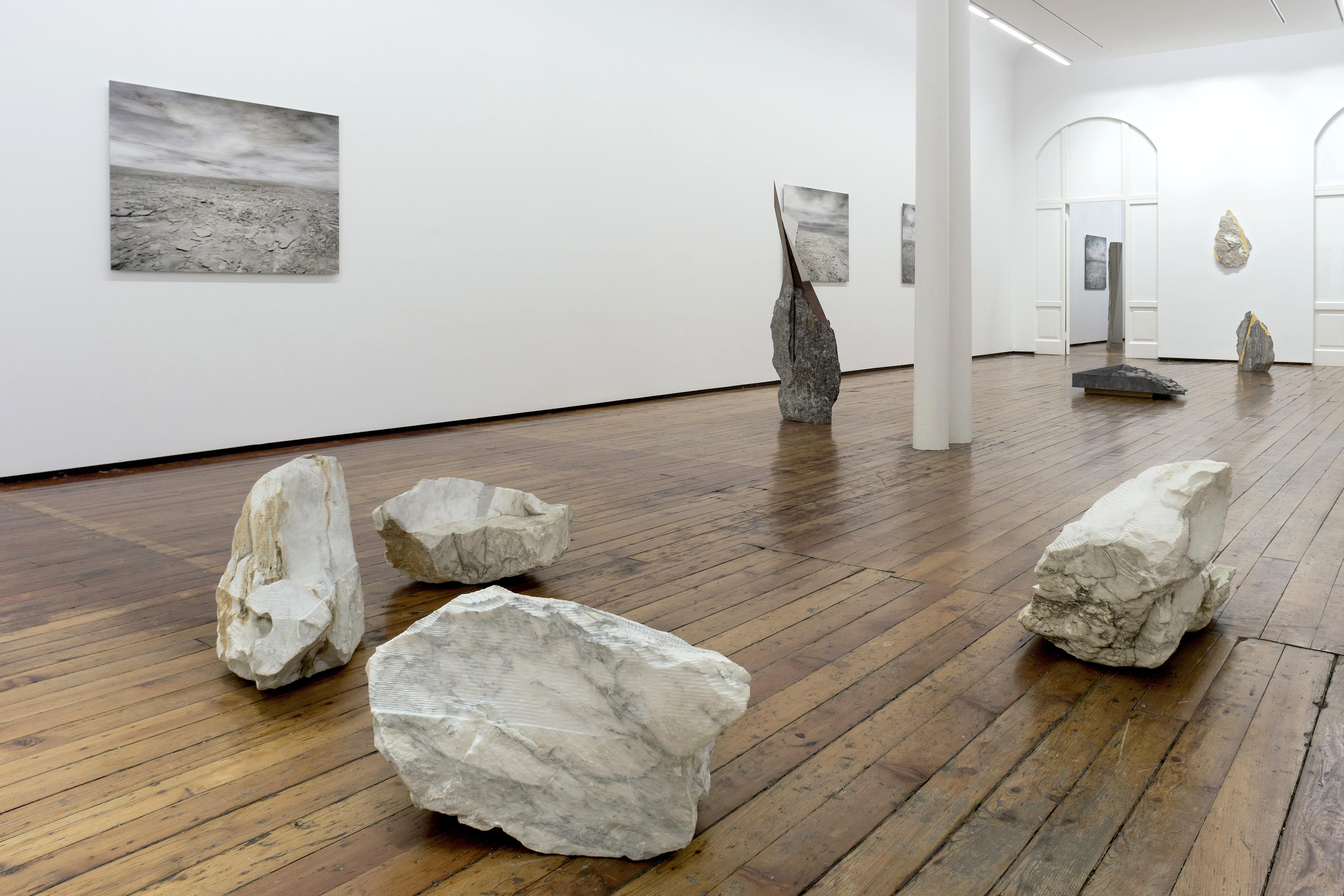 Filippo Armellin & Mattia Bosco. In origine, Galleria Fumagalli, Milano, 2019. Photo F.Armellin. Courtesy Galleria Fumagalli