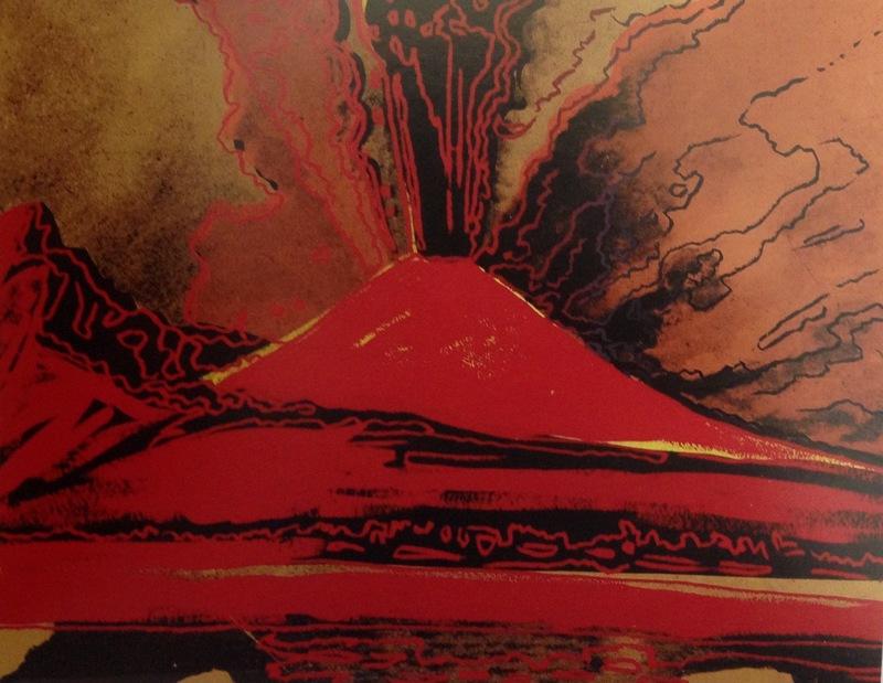 Vesuvius (n. 250, provenienza Lucio Amelio)