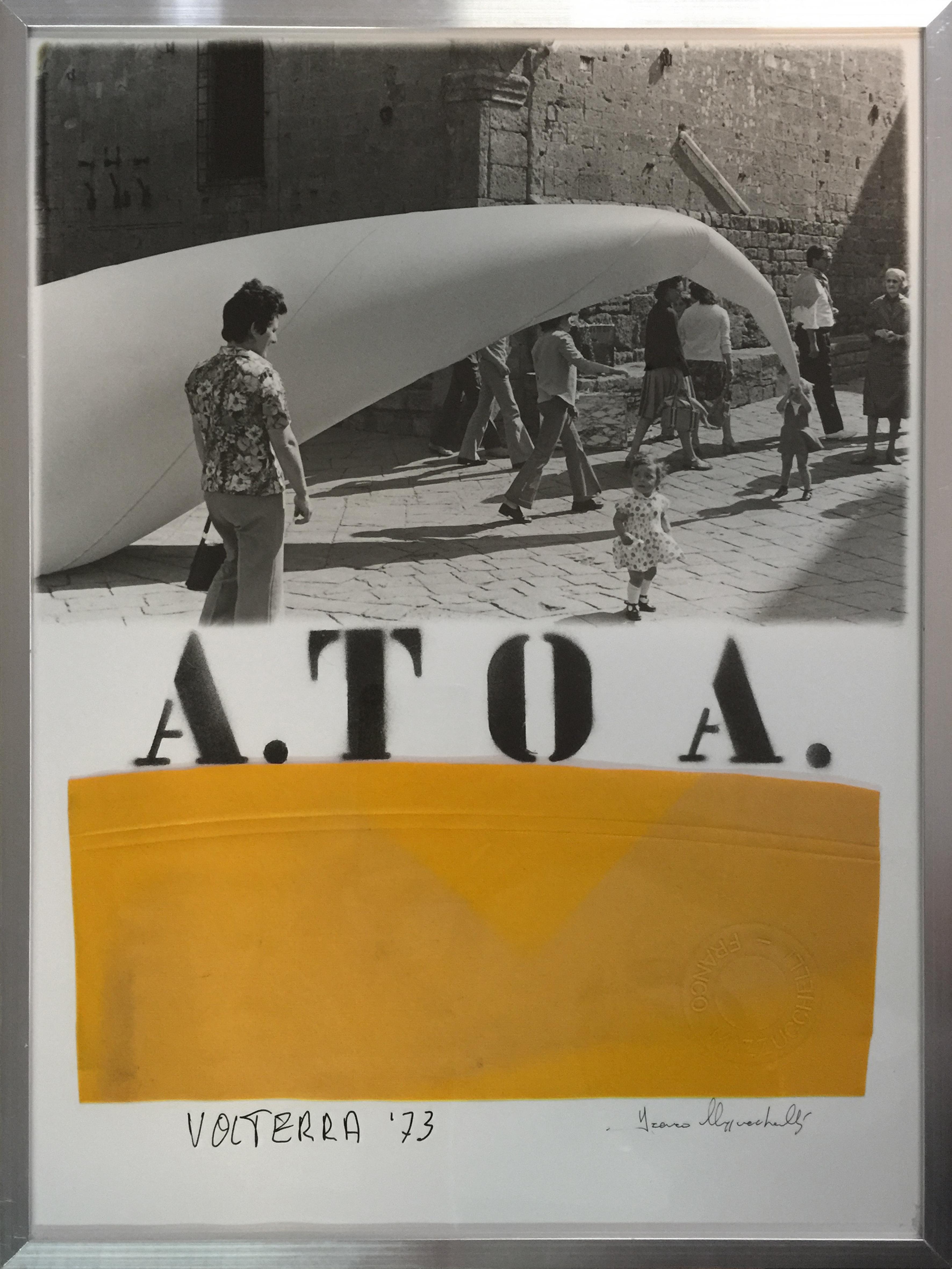 A.TO A. 020 1973 VOLTERRA, Piazza dei Priori