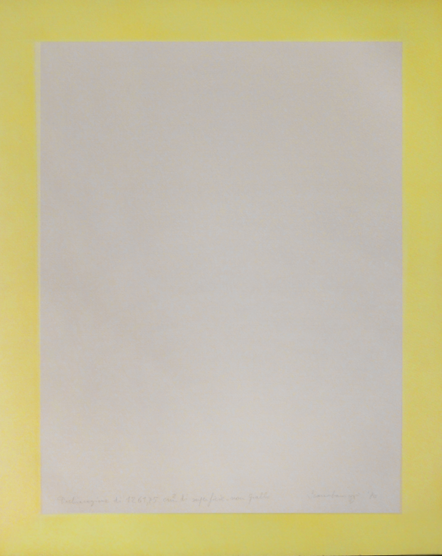 Dichiarazione di 1261,75 cm2 di superficie non gialla