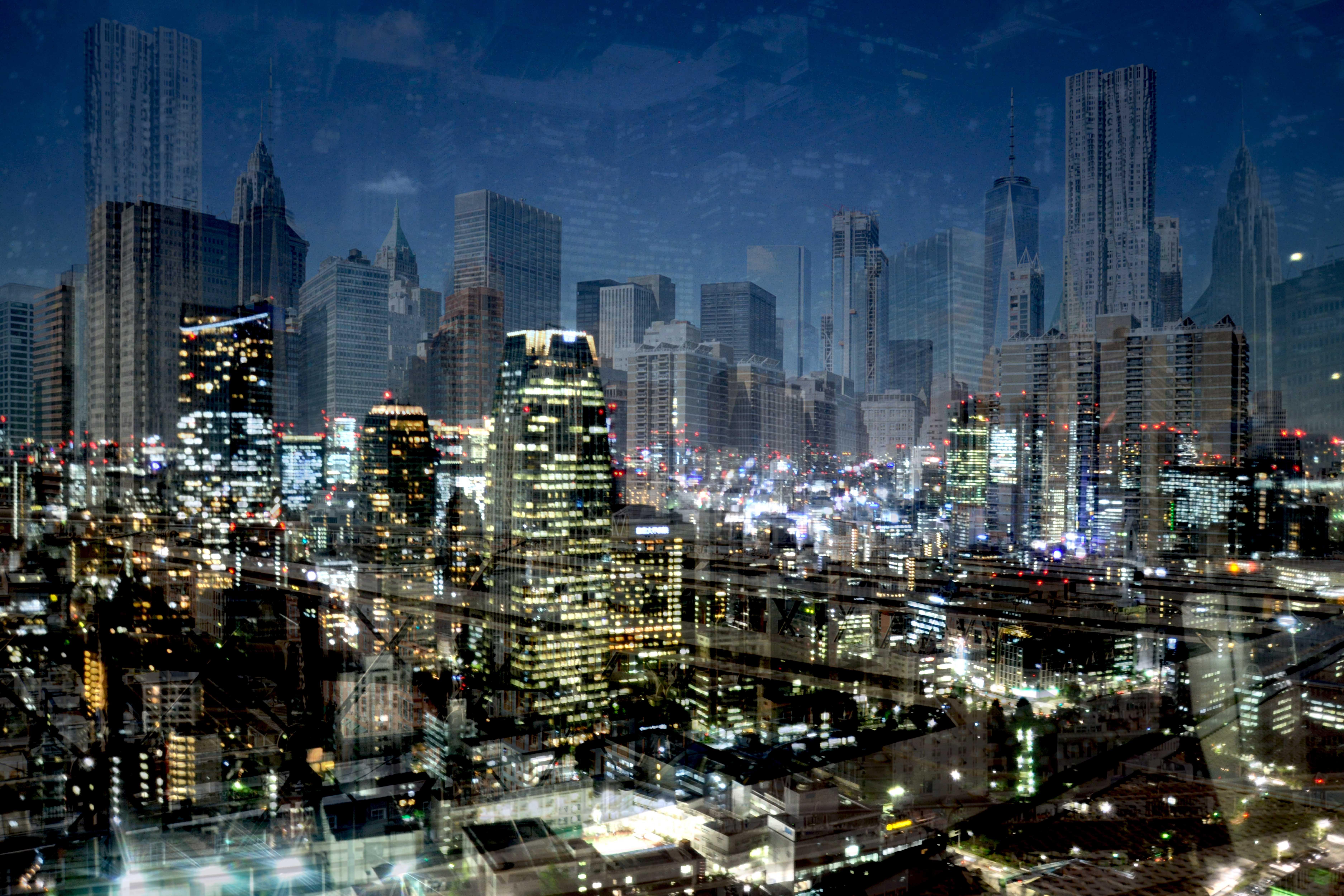 New York - Tokyo (a vista d'occhio)