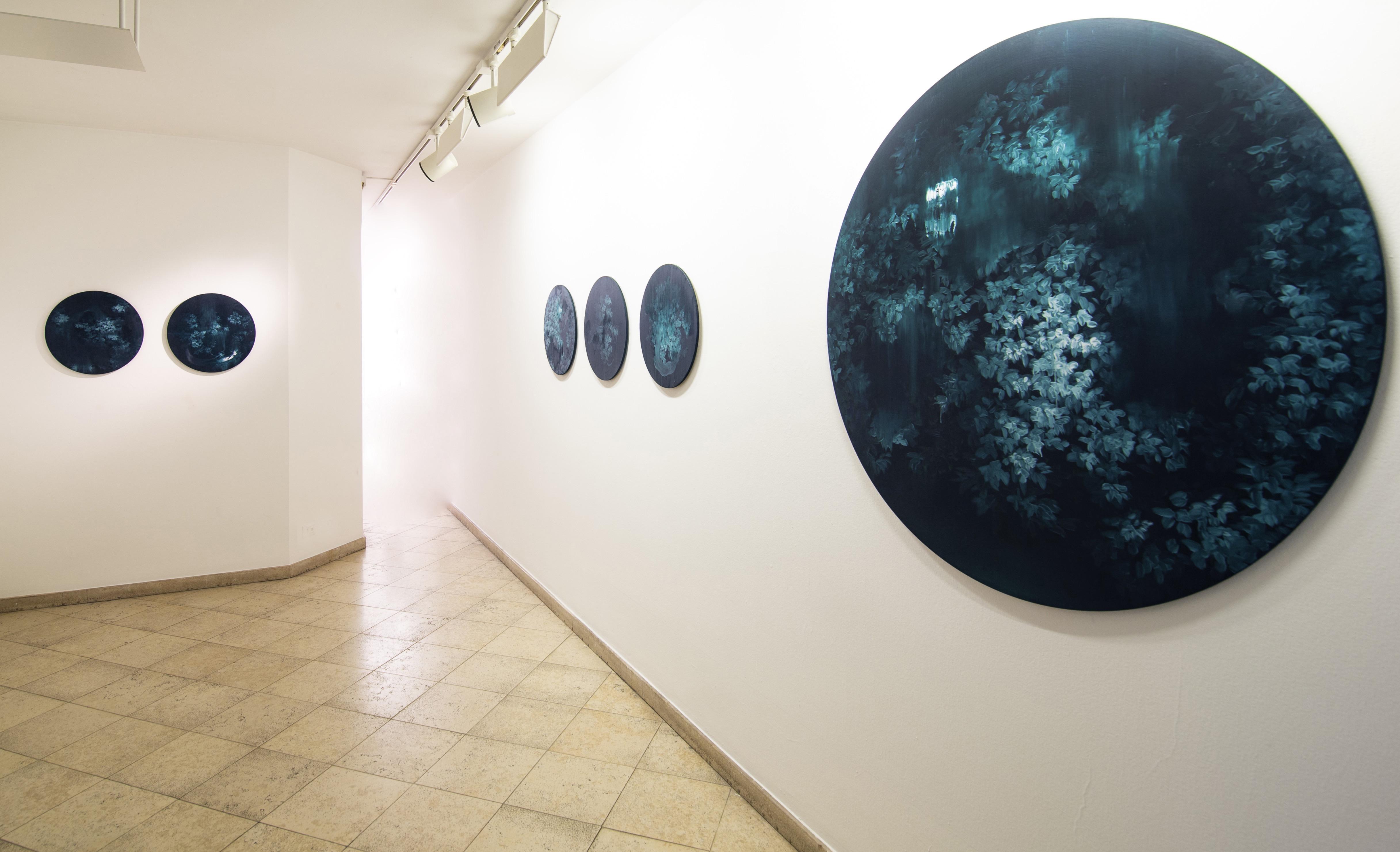 Installation View, Profondità Solide by Giulia Dall'Olio @ Traffic Gallery 2020 - ph by mario teli